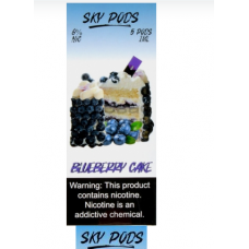 Купить Sky Pods Blueberry Cake 5%
