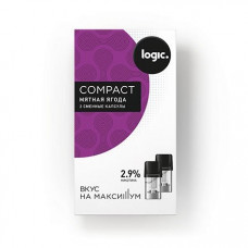 Капсулы Logic Compact Мятная Ягода 2,9%