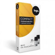 Купить Капсулы Logic Compact Тропический мусс 5%
