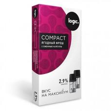 Купить Капсулы Logic Compact Ягодный Фреш 2,9 %