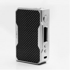 Купить Бокс мод VOOPOO Drag 157W Mod сталь + черный карбон