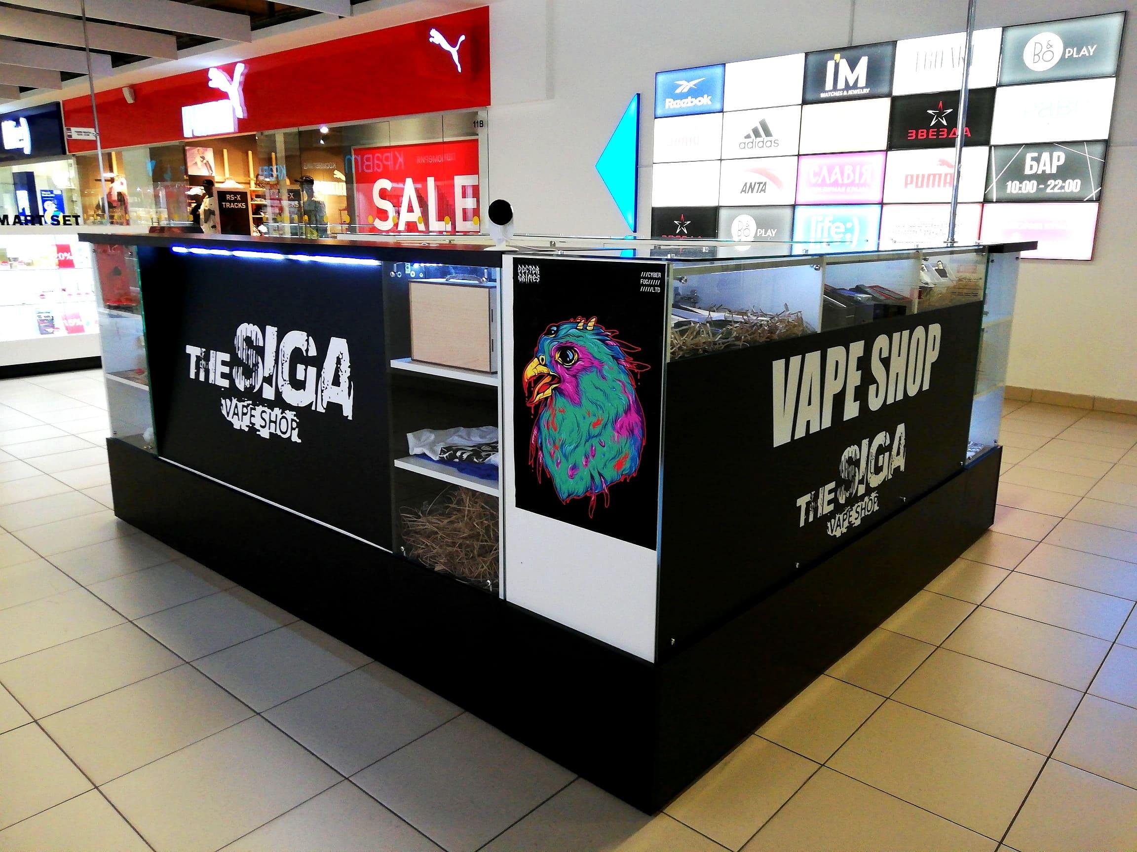 Vape Shop Минск ТЦ Корона Замок TheSiga