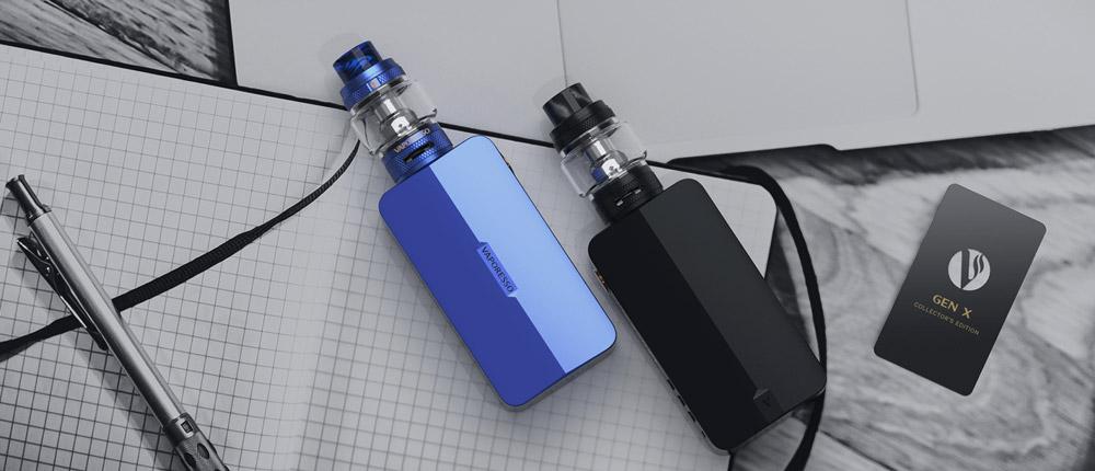 Vaporesso Gen X Синий и Черный Обзор